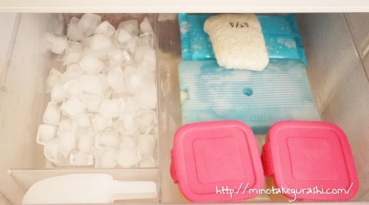 冷凍庫1段目