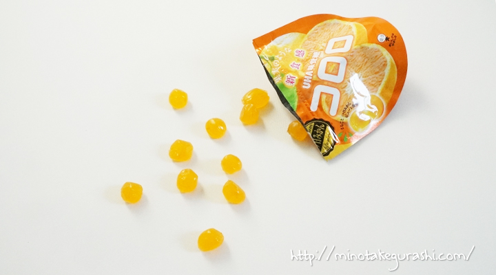 UHA味覚糖 コロロ 三ヶ日みかん味
