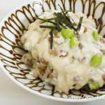 【レシピ】もち麦の三豆丼つくってみました|その原因、腸にあり!