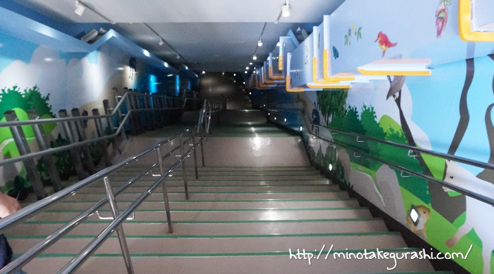 海底へ続く階段
