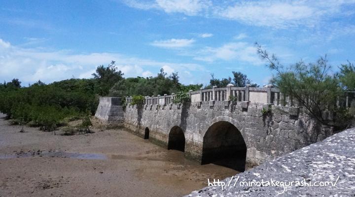 マングローブ林の橋
